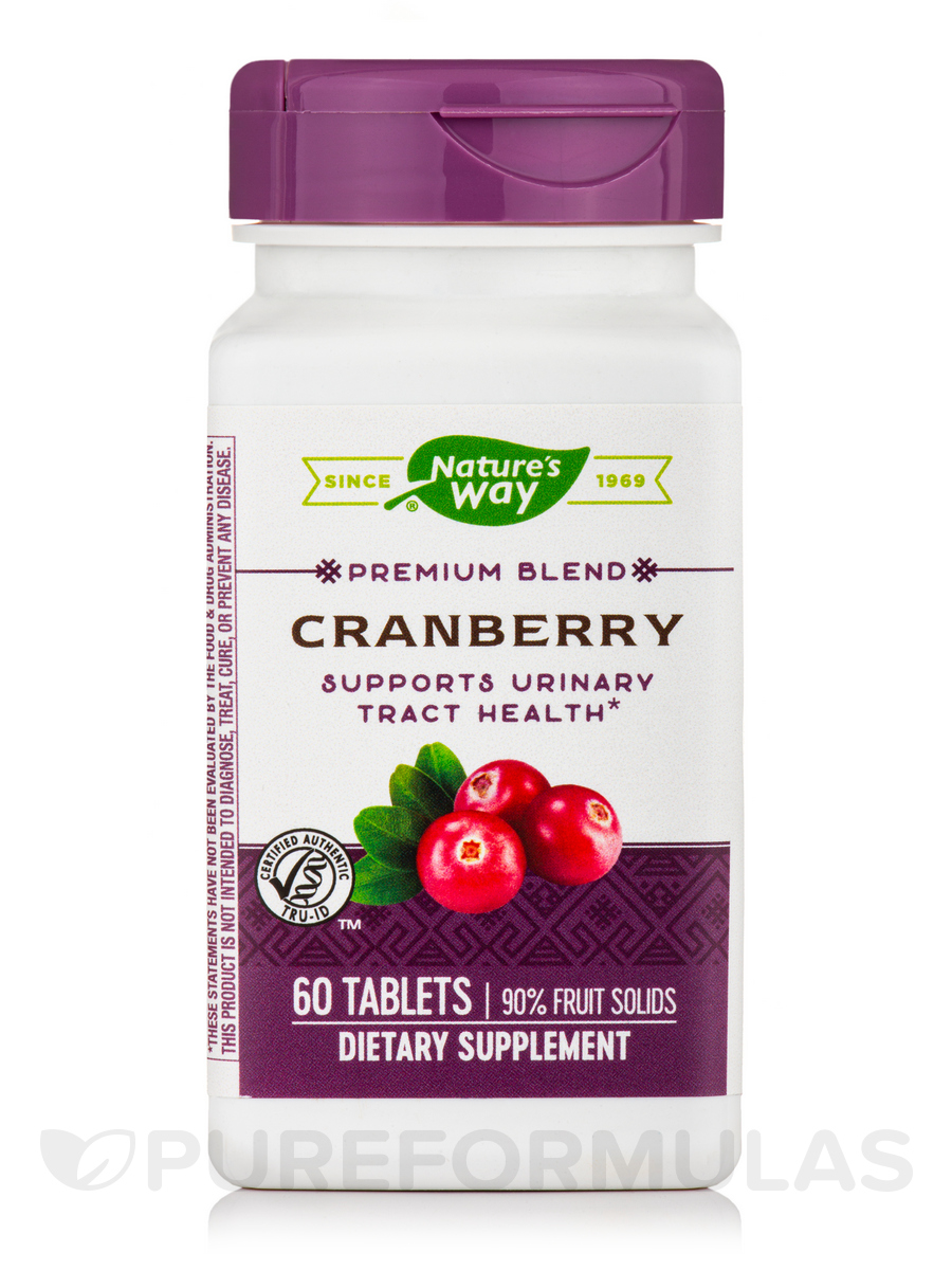 Cranberry - 60 Tablets