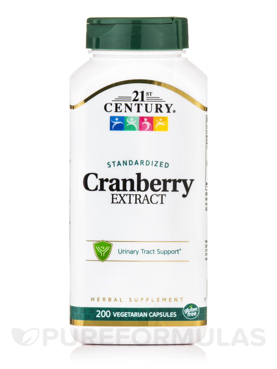 Cranberry Extract - 200 Vegetarian Capsules