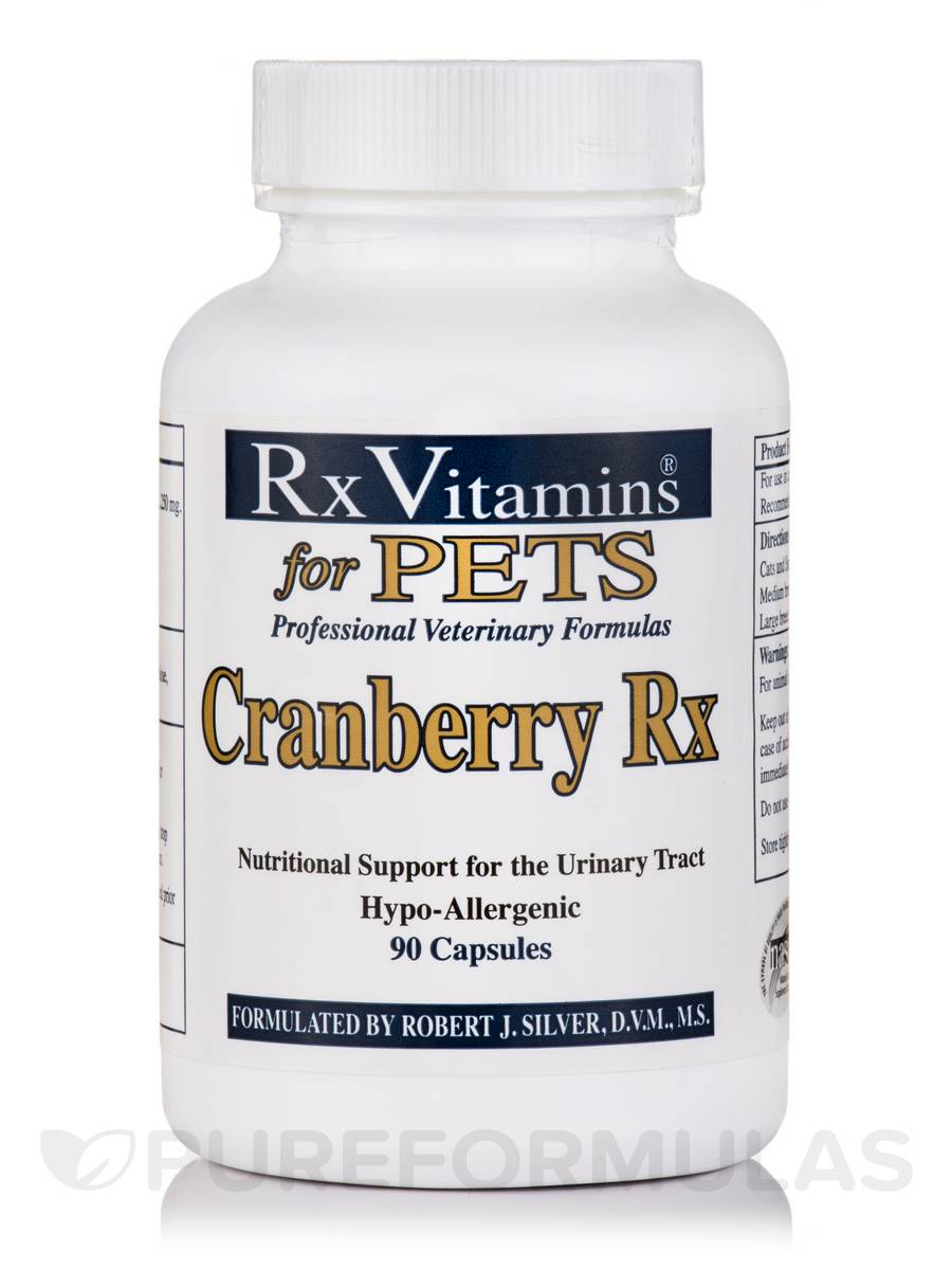 Cranberry Rx for Pets - 90 Capsules