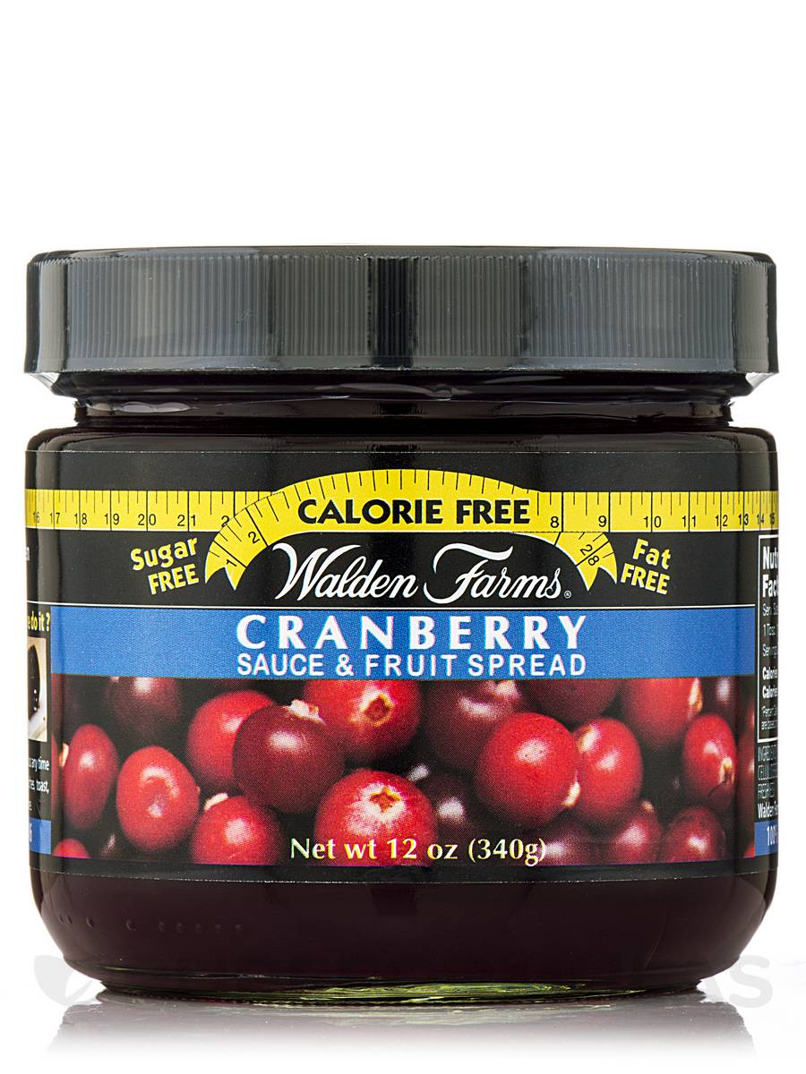 Cranberry Sauce & Fruit Spread Jar - 12 oz (340 Grams)