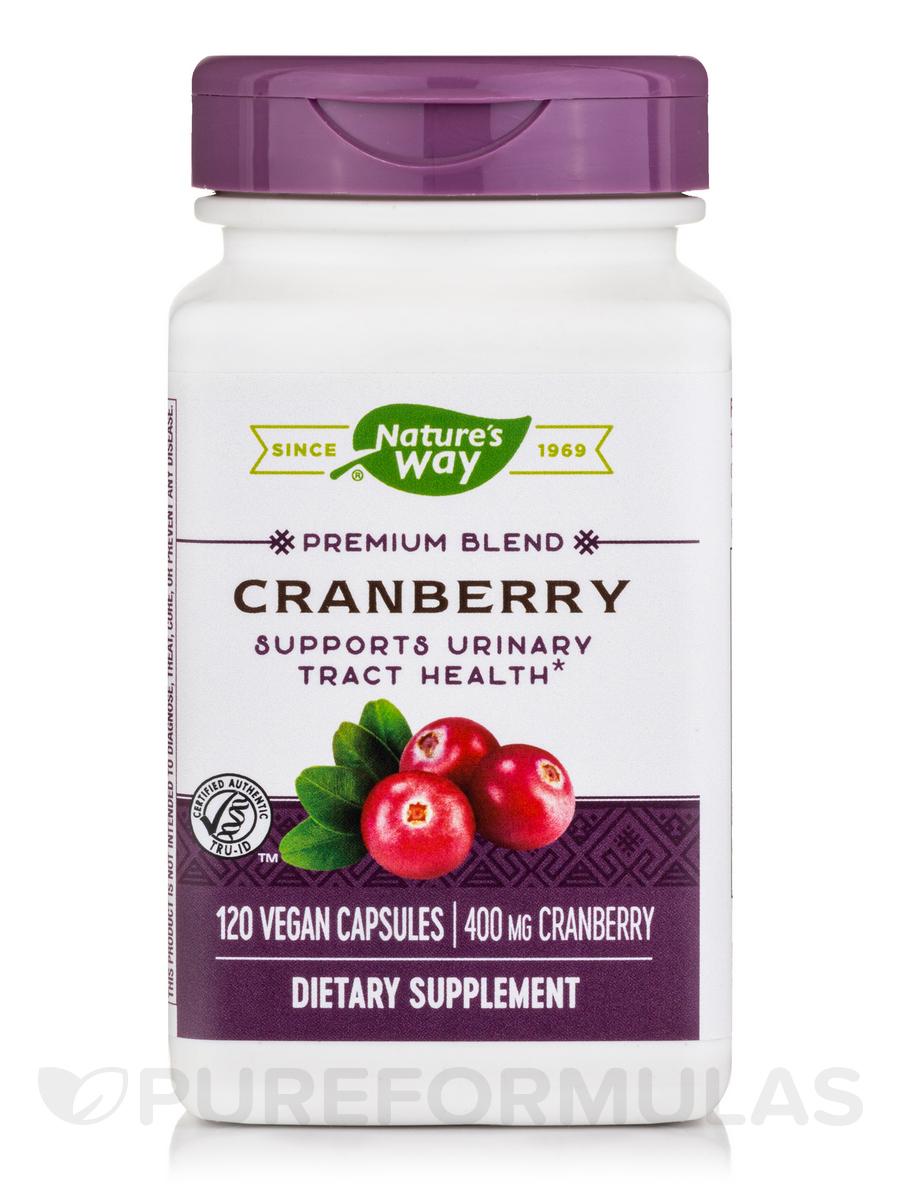 Cranberry Standardized - 120 Vegetarian Capsules