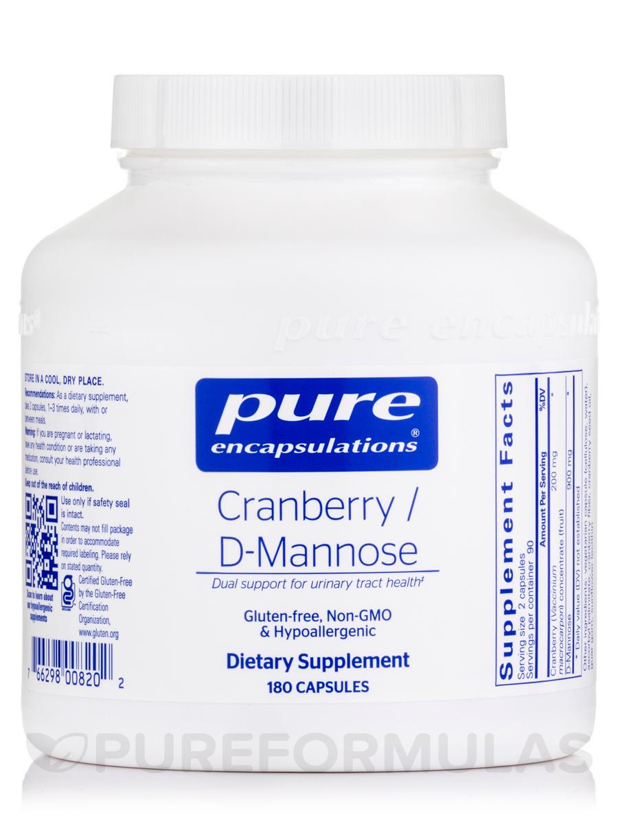 Cranberry / d-Mannose - 180 Capsules