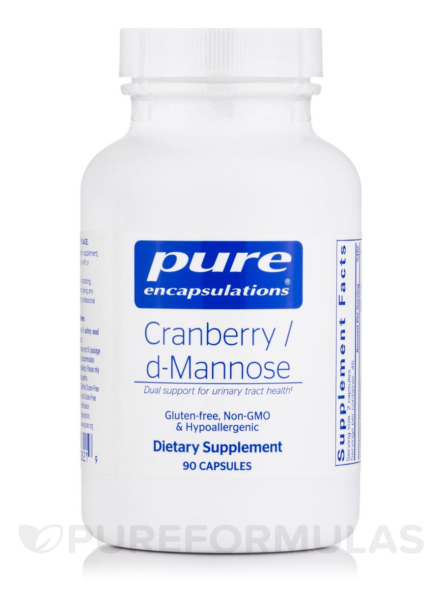 Cranberry/d-Mannose - 90 Capsules