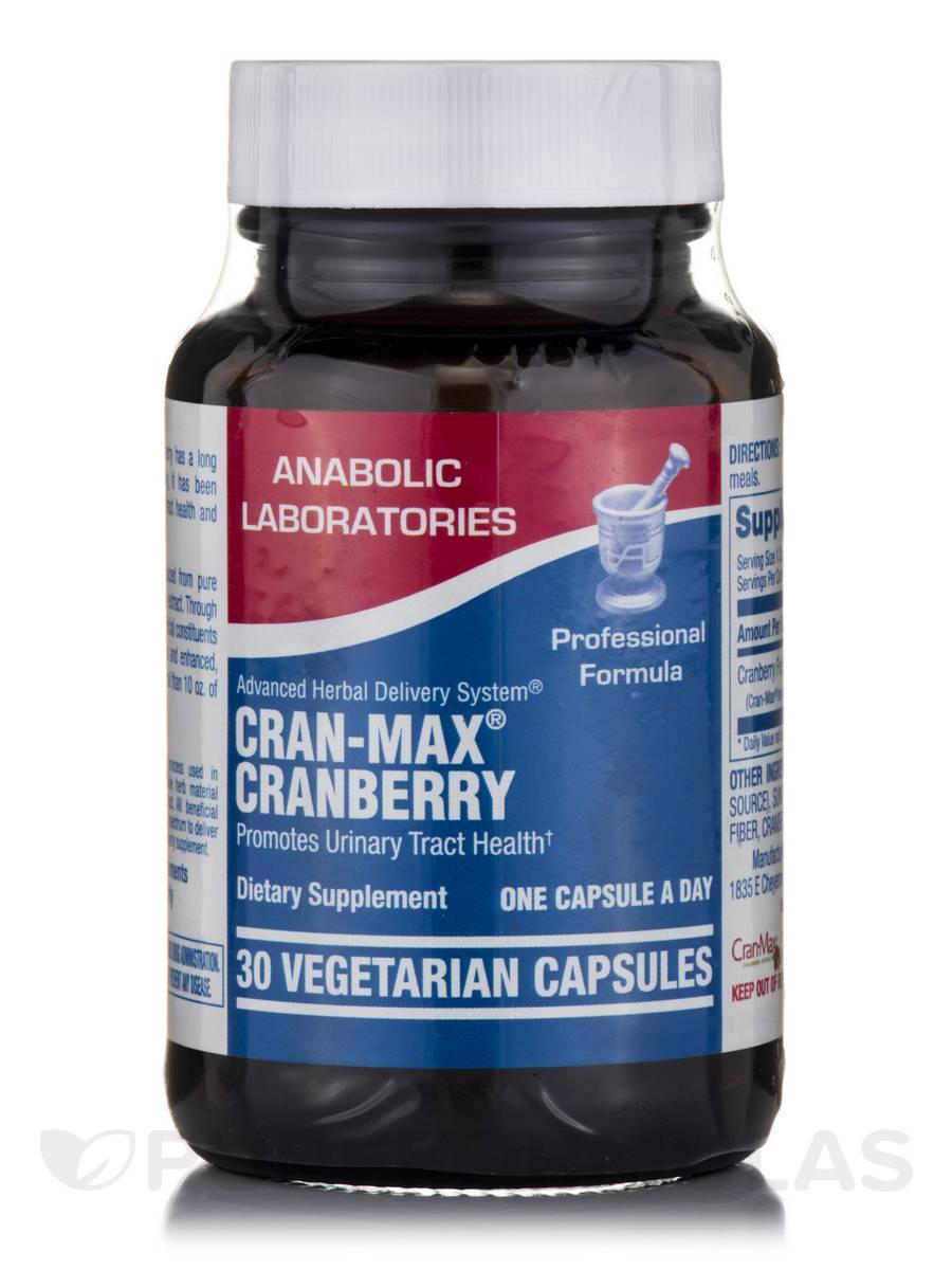 Cran-Max® Cranberry - 30 Vegetarian Capsules