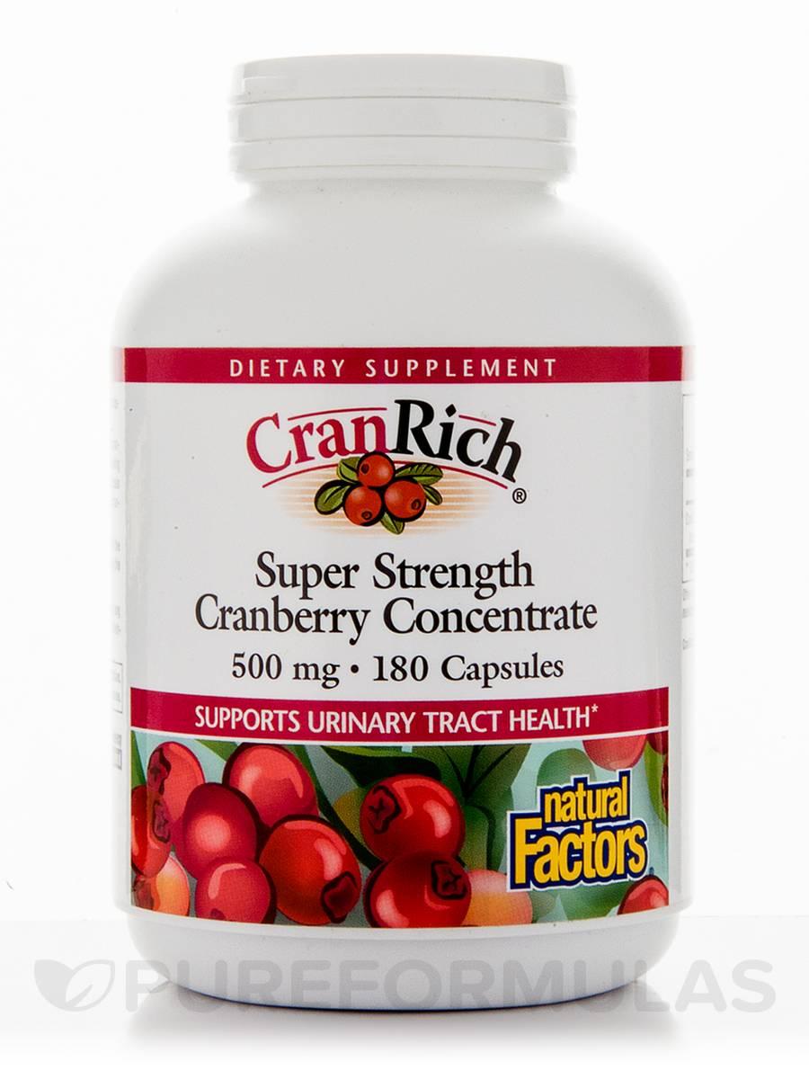CranRich 500 mg - 180 Capsules