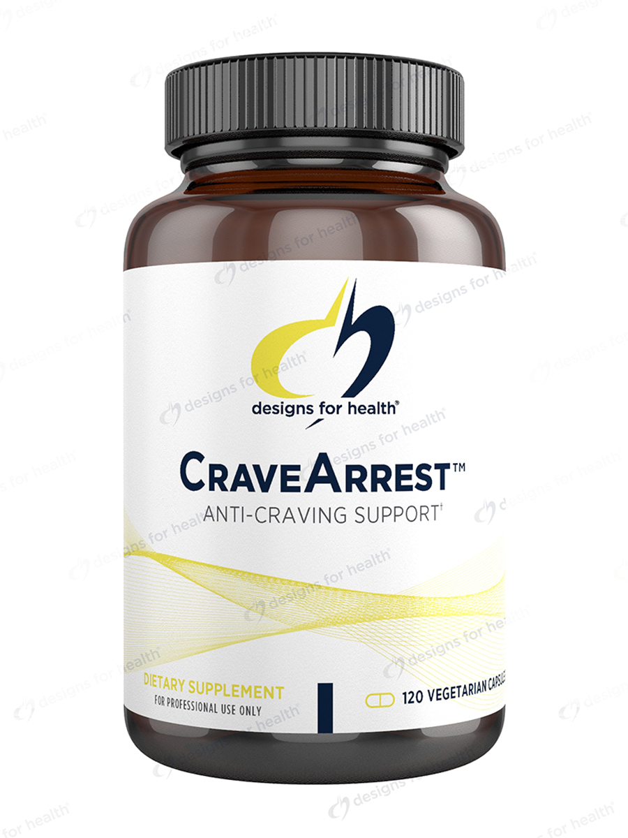 CraveArrest - 120 Vegetarian Capsules
