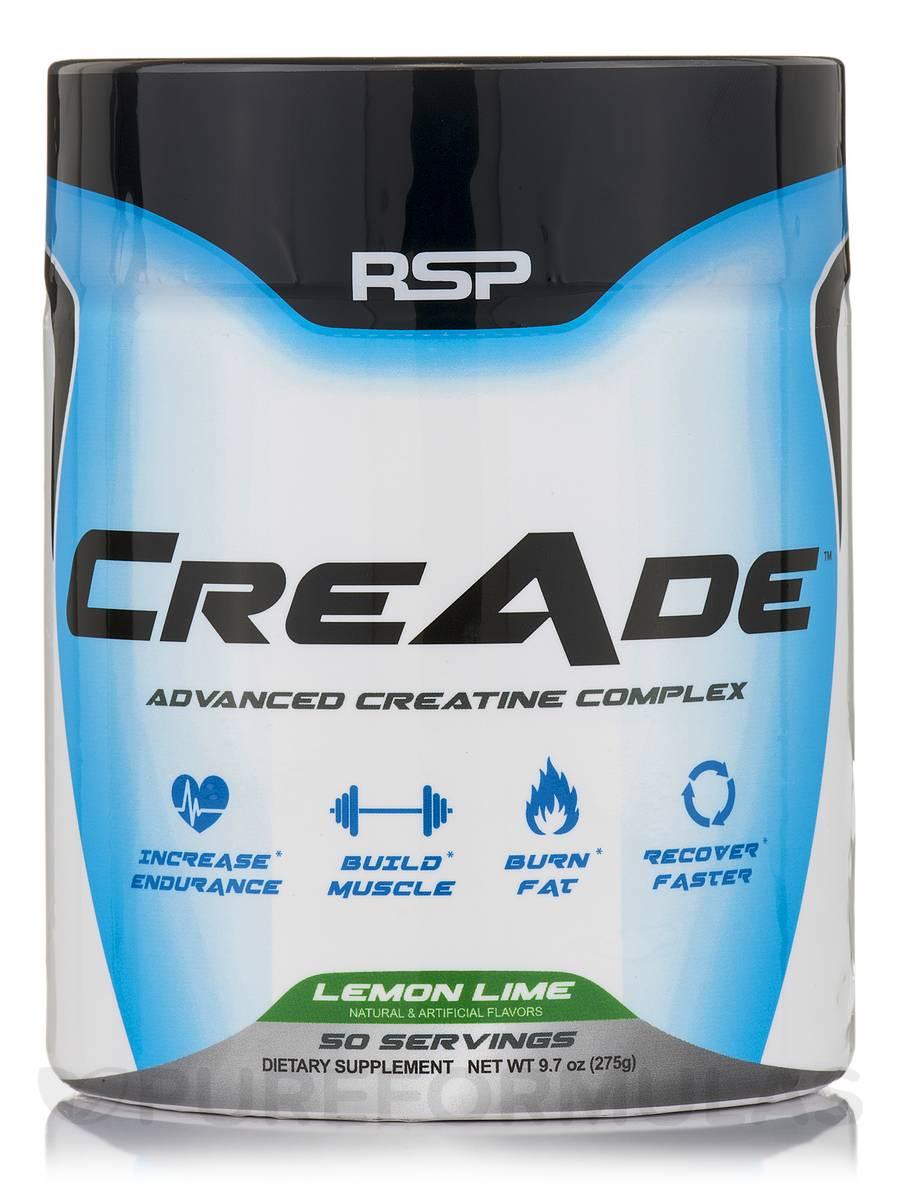 CreAde (Lemon Lime) - 50 Servings (9.7 oz / 275 Grams)