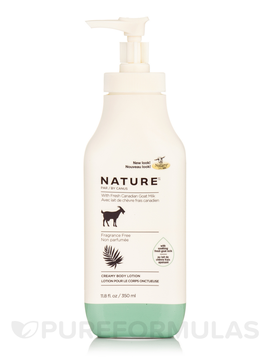 Creamy Body Lotion, Fragrance Free - 11.8 fl. oz (350 ml)