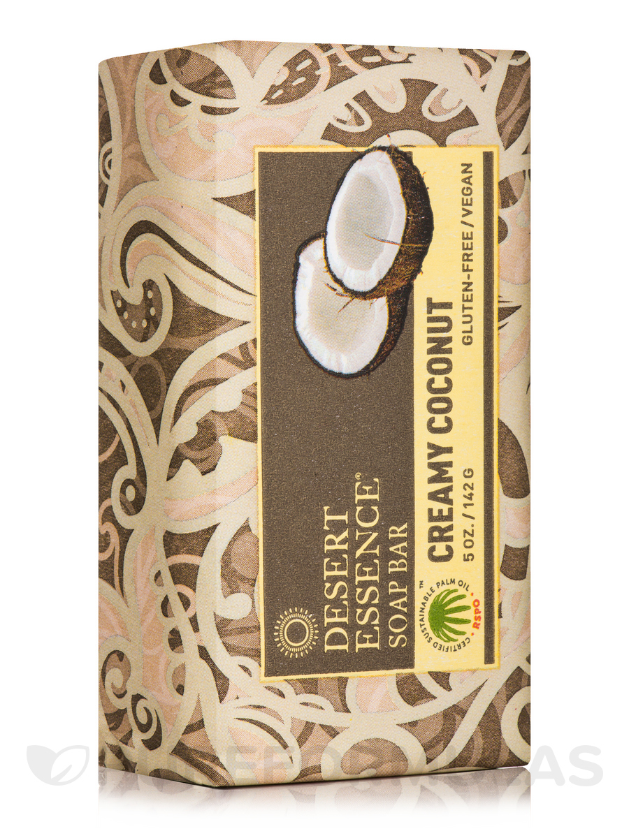 Creamy Coconut Soap Bar - 5 oz (142 Grams)