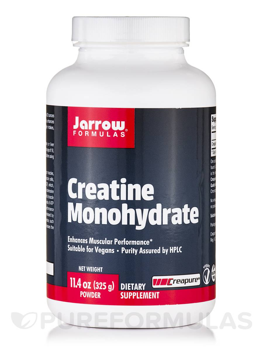 Creatine Monohydrate-325 - 11.4 oz (325 Grams)
