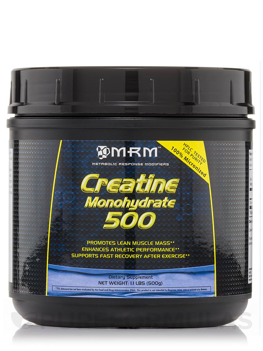 Creatine Monohydrate (Micronized) - 1.1 lbs (500 Grams)