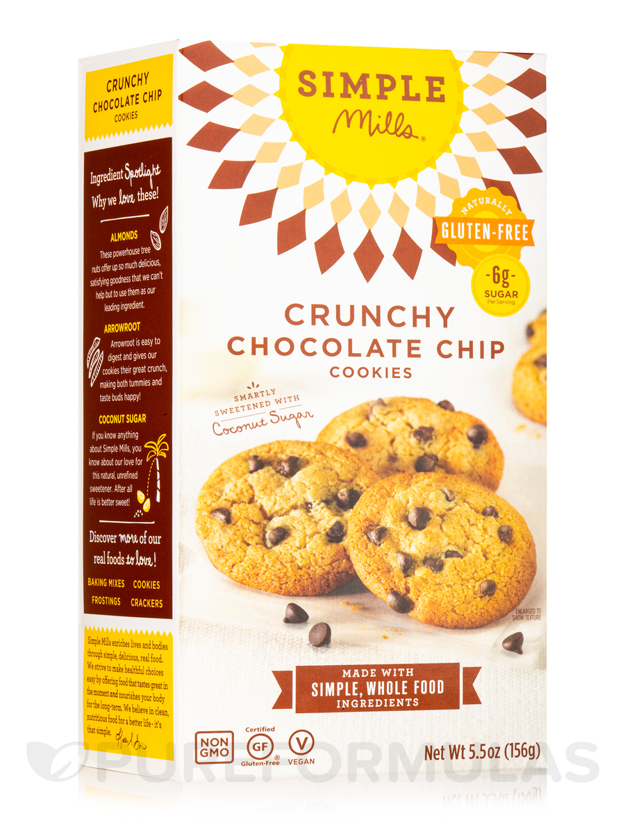 Crunchy Chocolate Chip Cookies - 5.5 oz (156 Grams)