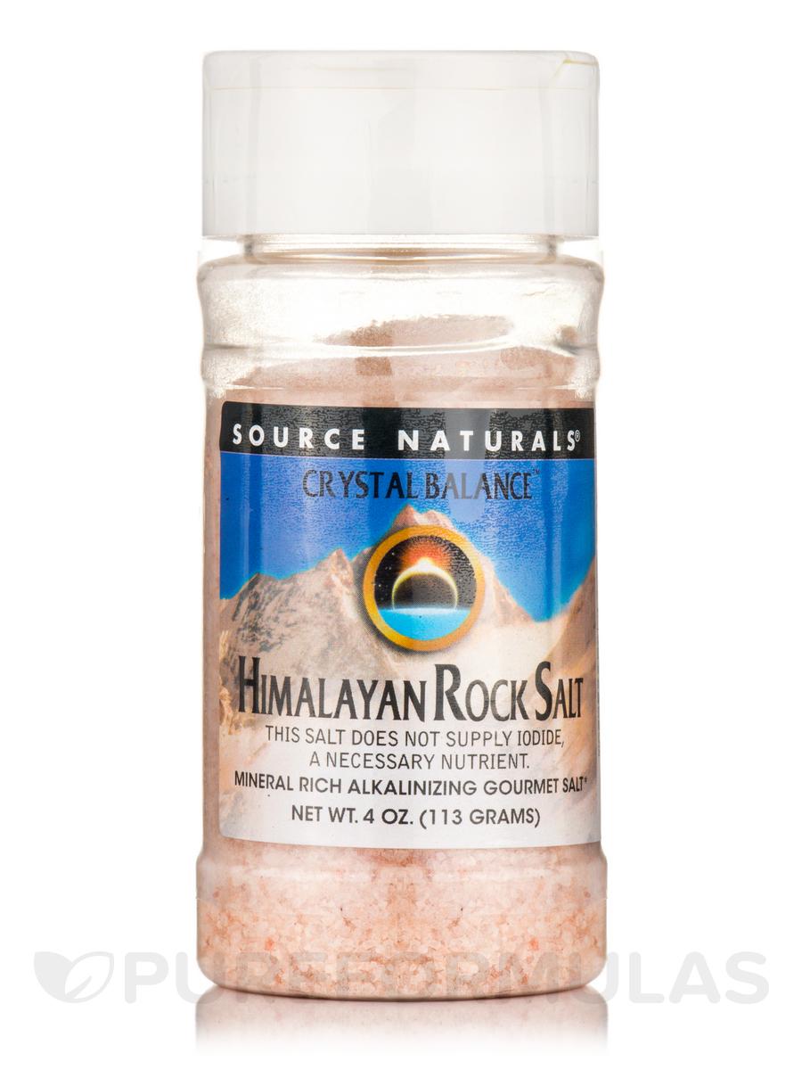 Crystal Balance™ Himalayan Rock Salt - 4 oz (113 Grams)