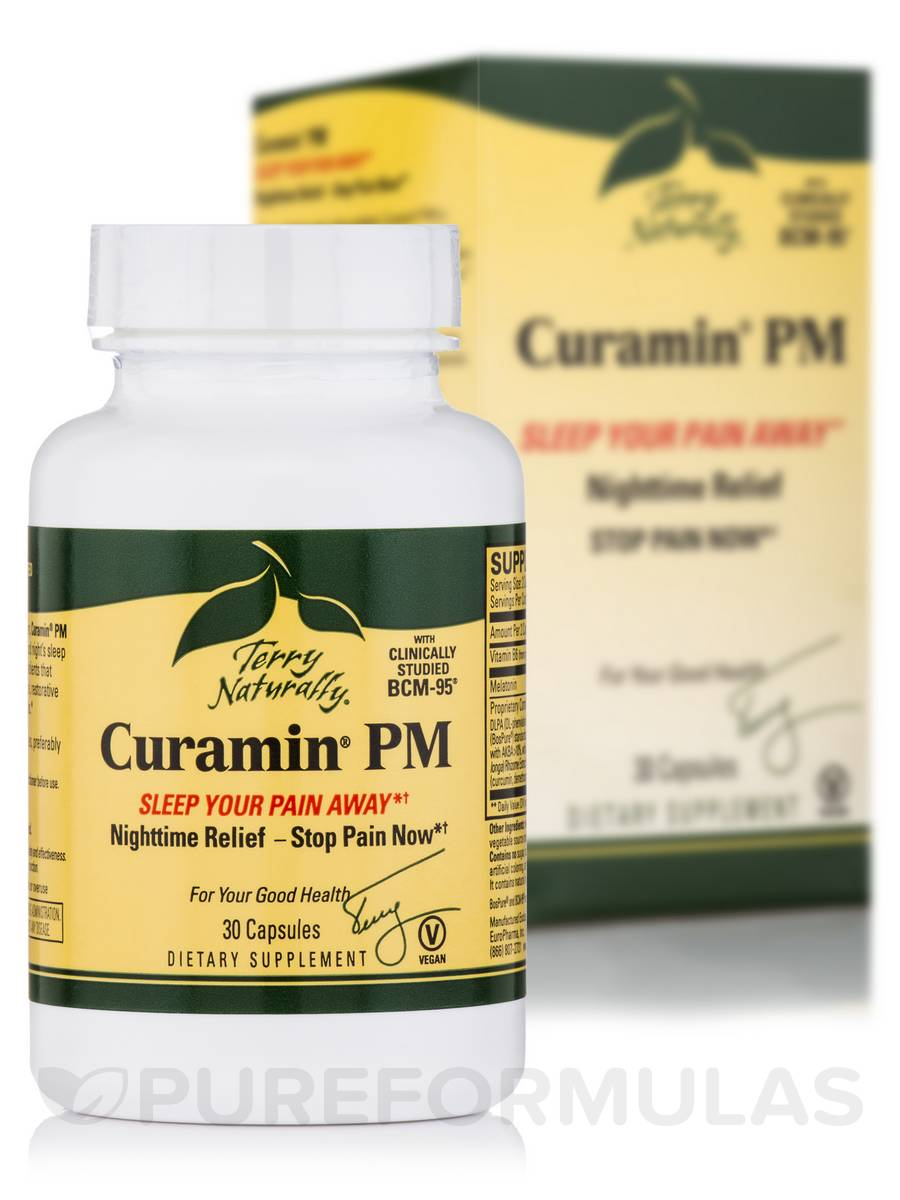 Curamin® PM - 30 Capsules