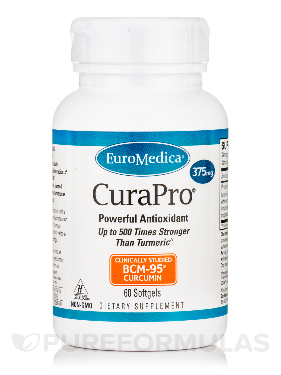 CuraPro® 375 mg - 60 Softgels