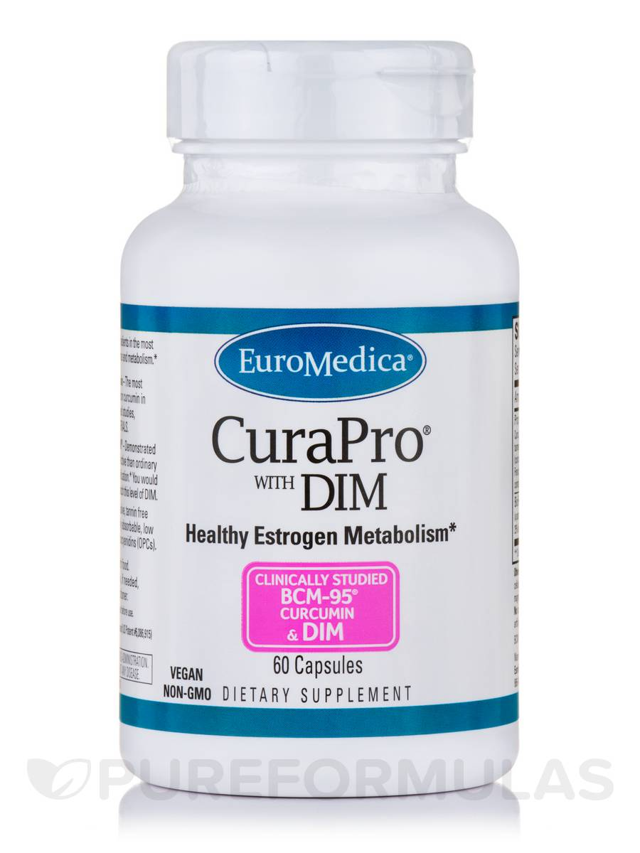 CuraPro® with DIM - 60 Capsules