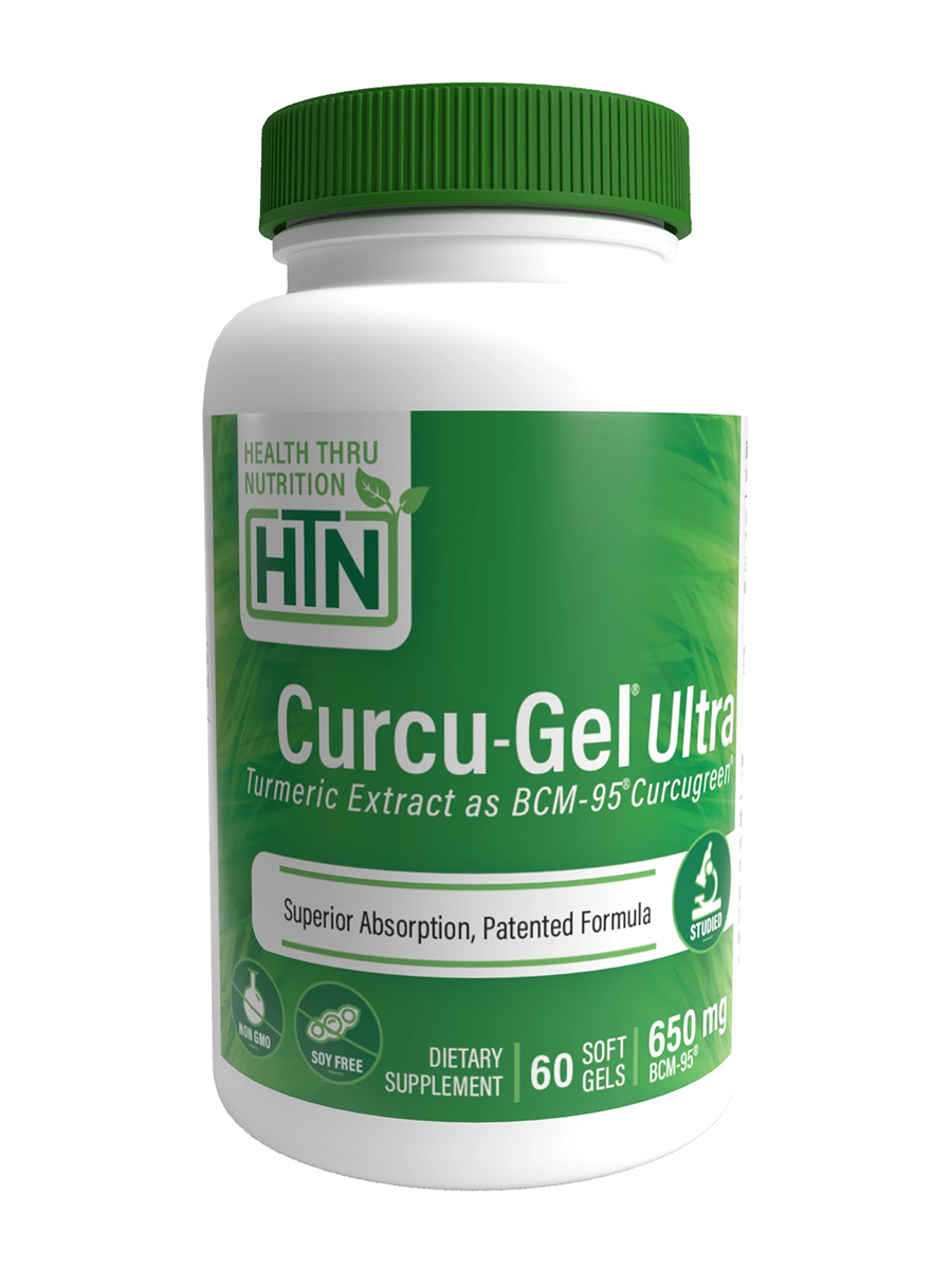Curcu-Gel® Ultra 650 mg BCM-95 - 60 Softgels