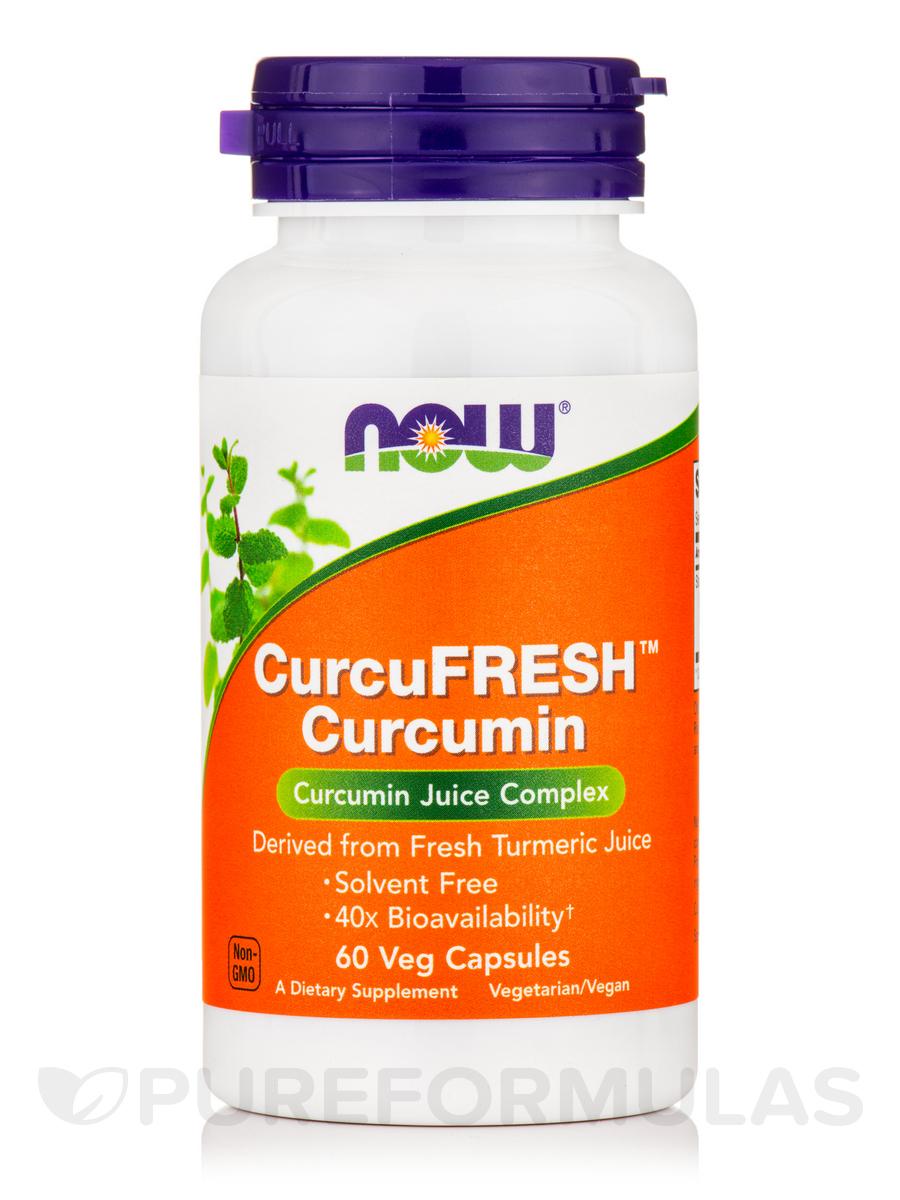 CurcuFRESH™ Curcumin - 60 Veg Capsules