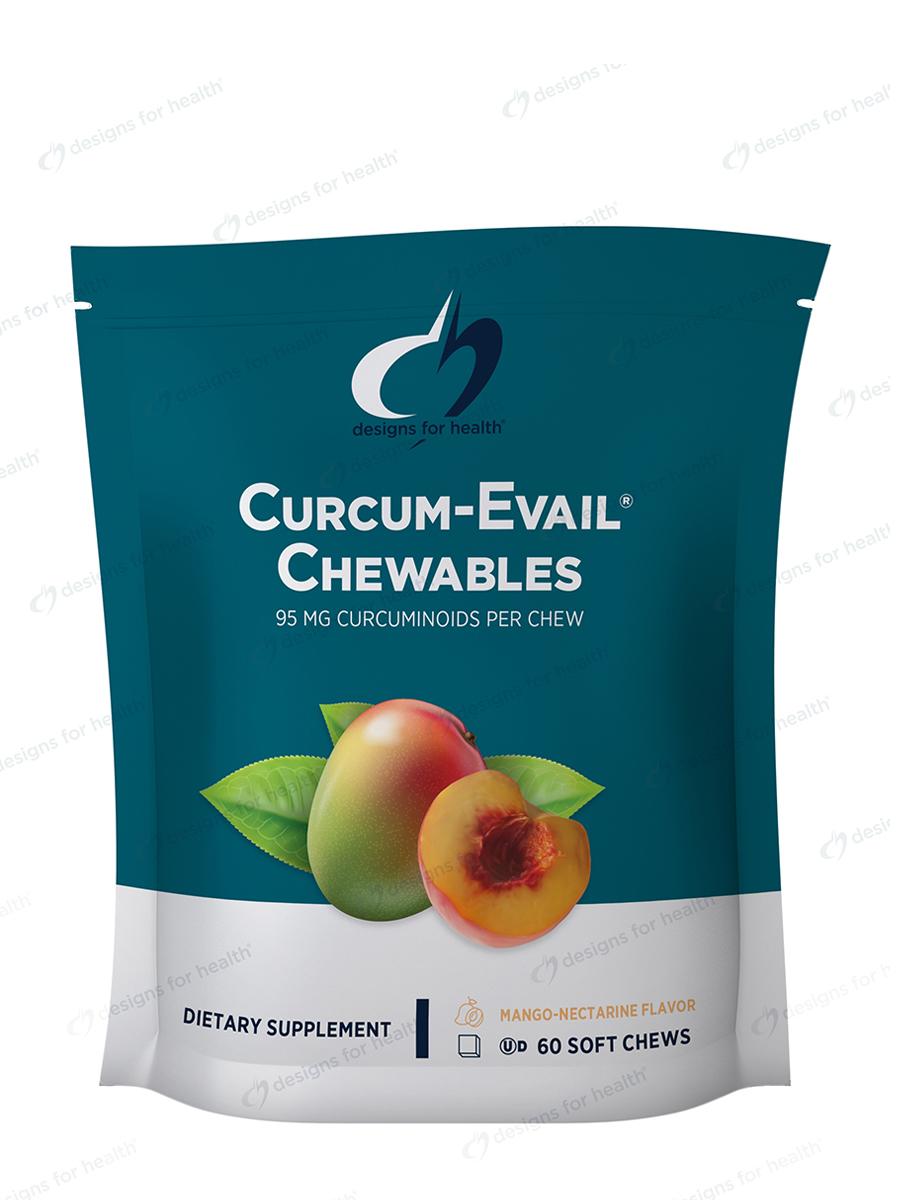 Curcum-Evail® Chewables, Mango Nectarine Flavor - 60 Soft Chews