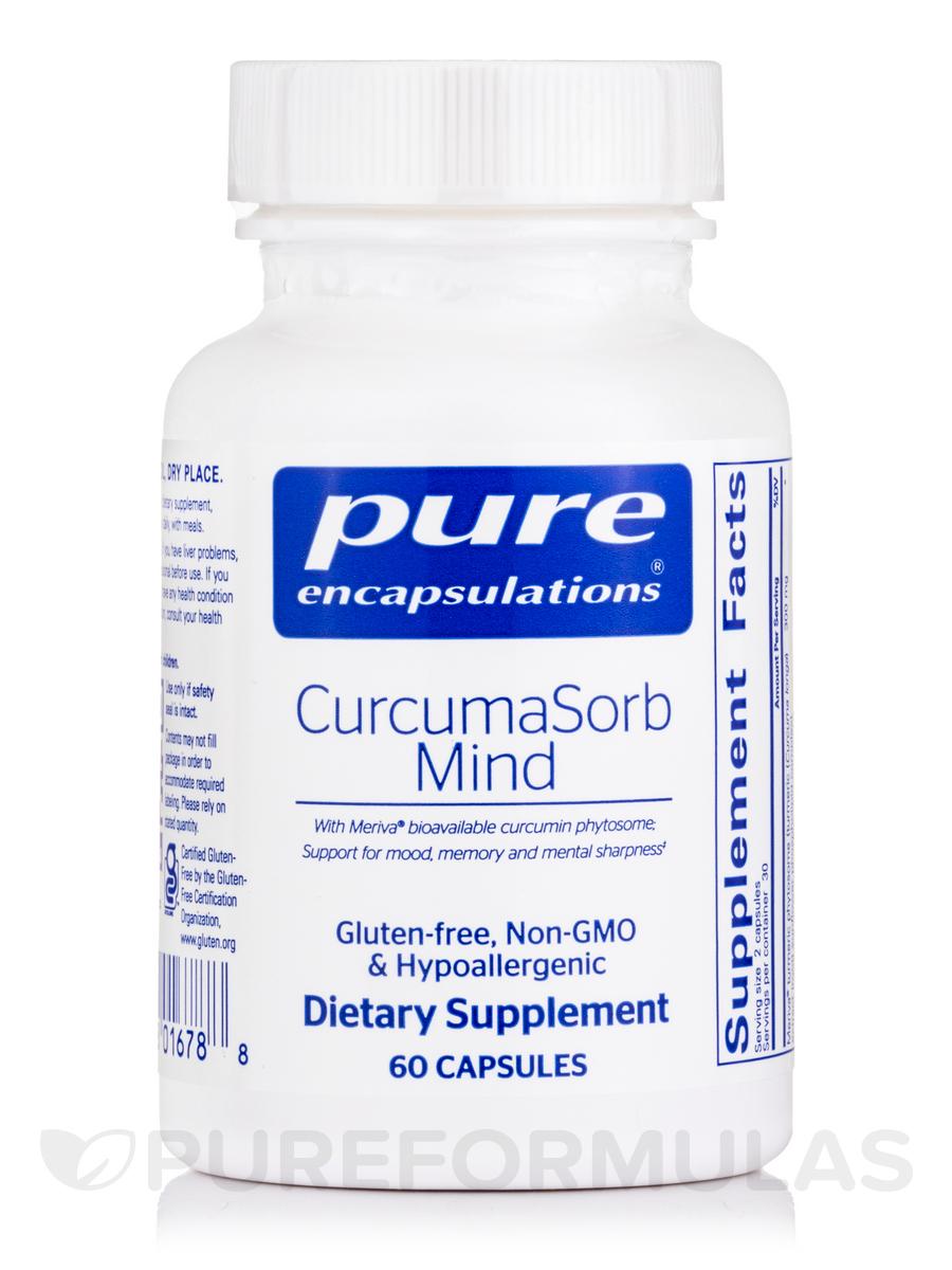 CurcumaSorb Mind - 60 Capsules