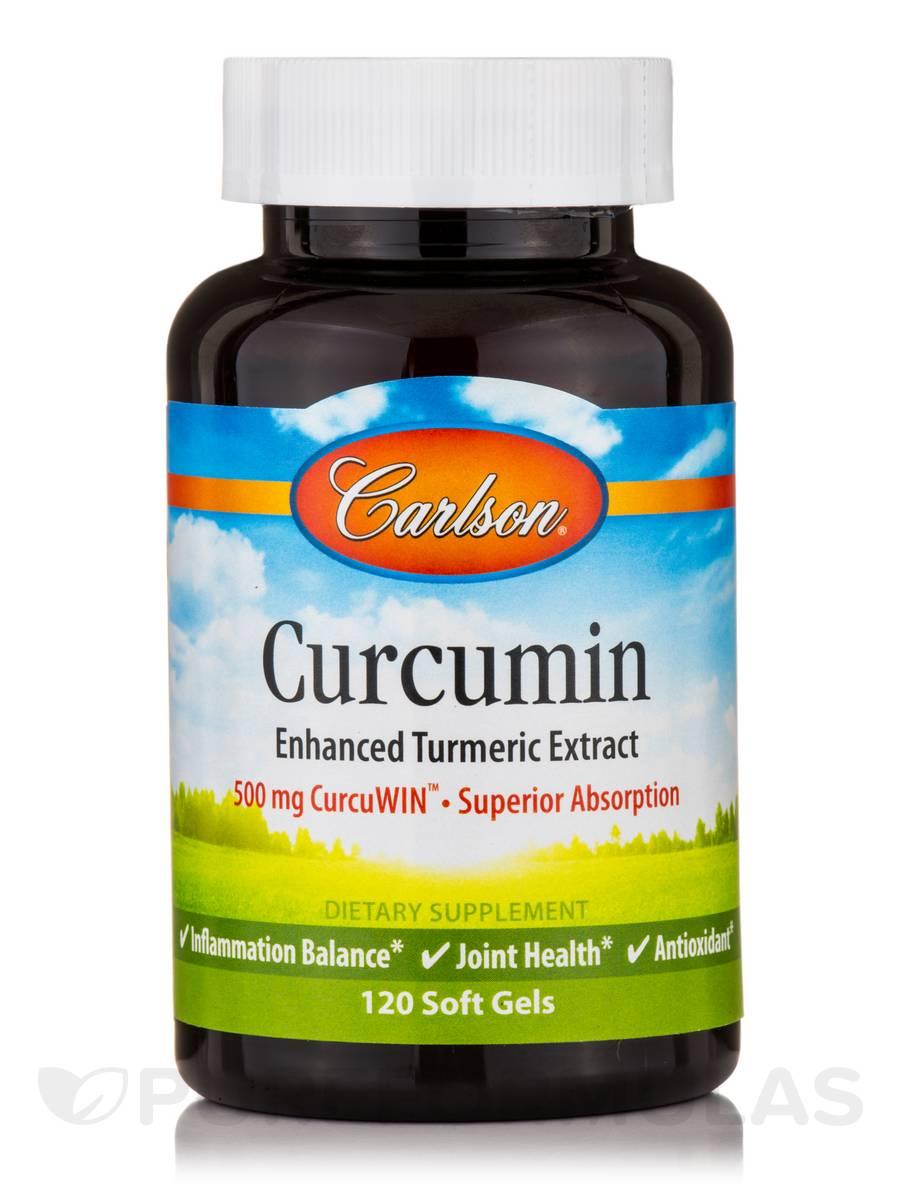 Curcumin - 120 Soft Gels