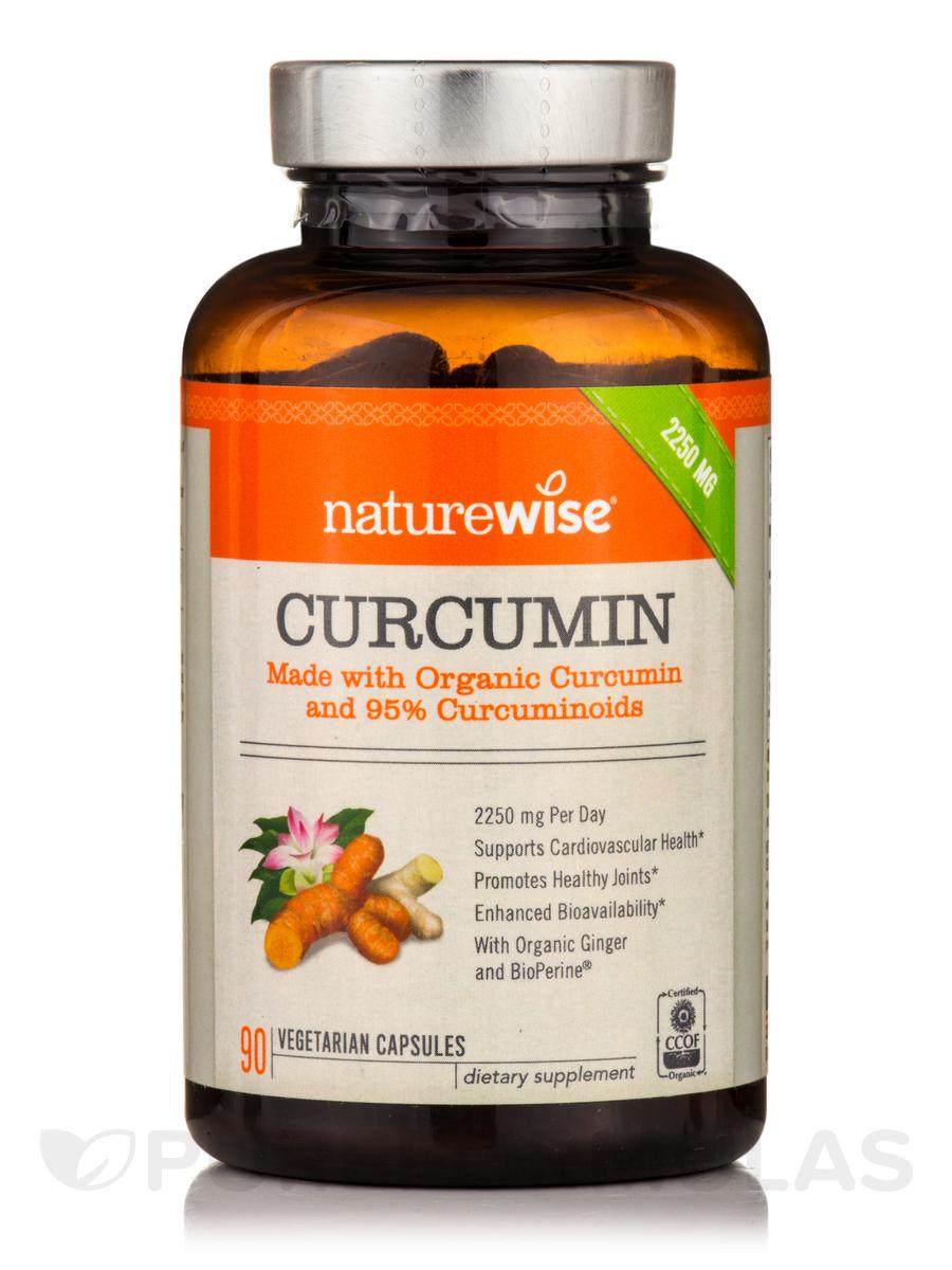Curcumin 2250 mg - 90 Vegetarian Capsules