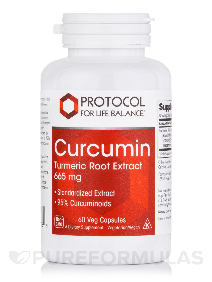 Curcumin 665 mg - 60 Vegetarian Capsules