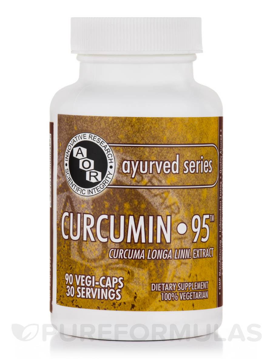 Curcumin 95 - 90 Vegetarian Capsules