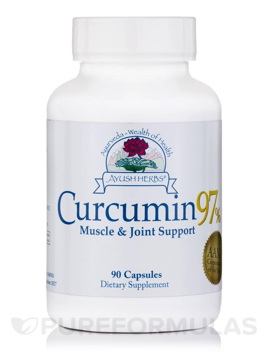 Curcumin 97% - 90 Vegetarian Capsules