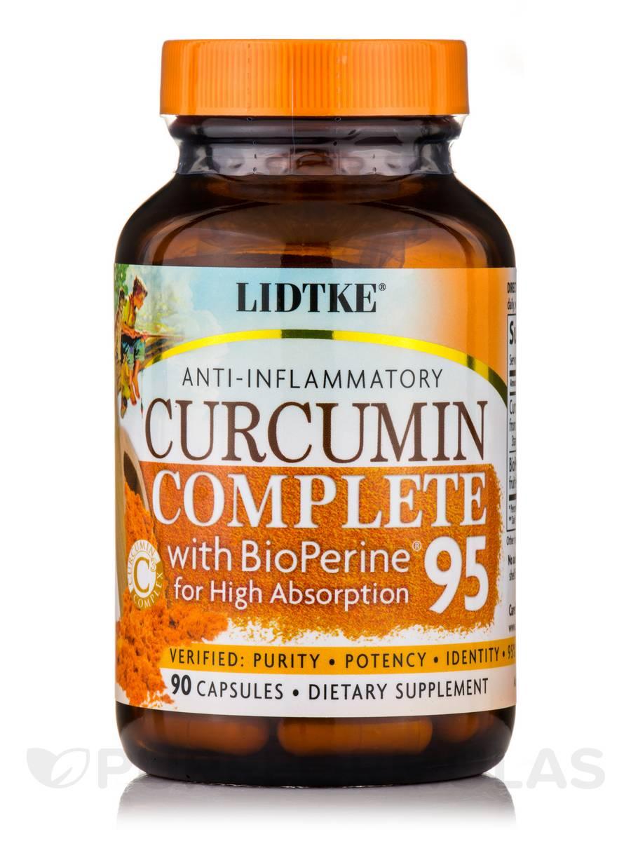 Curcumin Complete 95 with BioPerine® - 90 Capsules