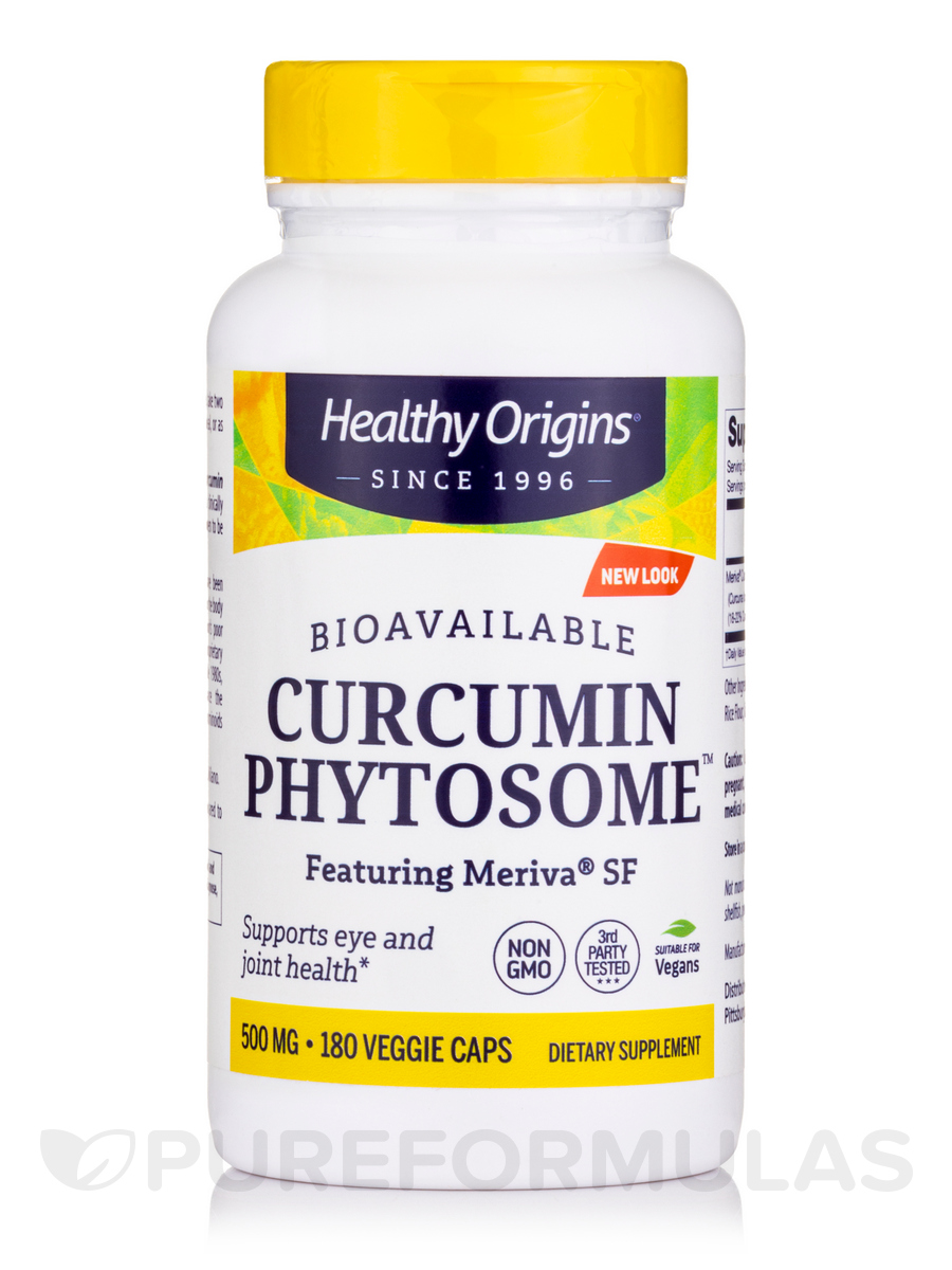 Curcumin Phytosome™ featuring Meriva® SF 500 mg - 180 Veggie Caps