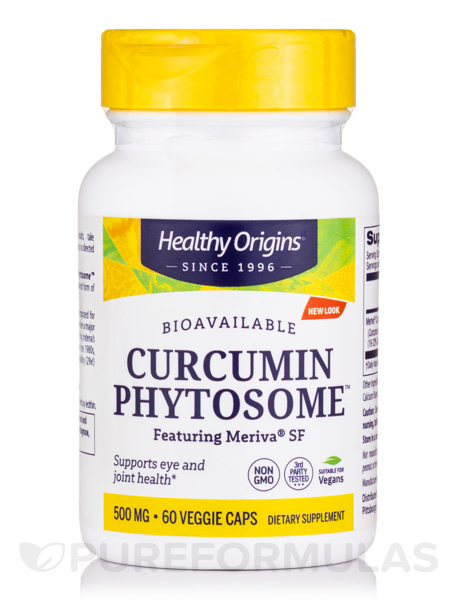 Curcumin Phytosome™ featuring Meriva® SF 500 mg - 60 Veggie Caps