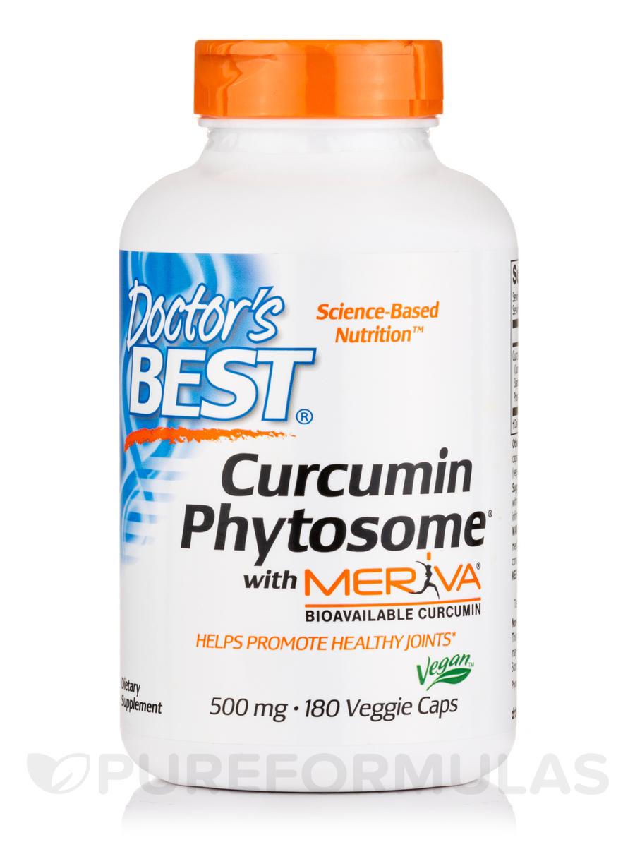 Curcumin Phytosome with Meriva® 500 mg - 180 Veggie Capsules