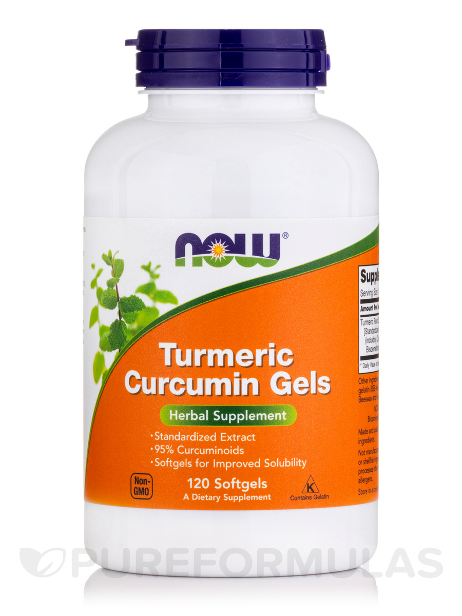 Curcumin Turmeric Root Extract - 120 Softgels