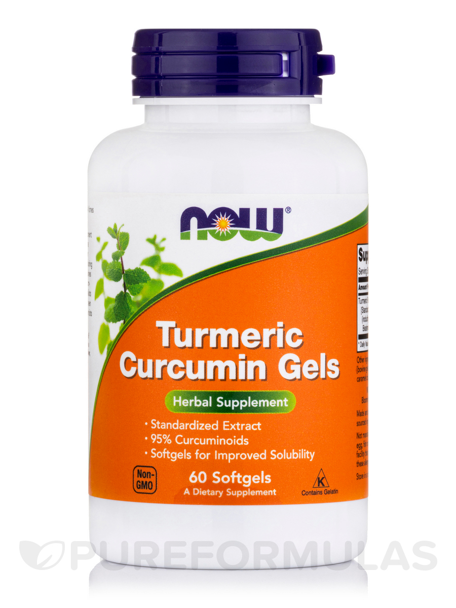Curcumin Turmeric Root Extract - 60 Softgels
