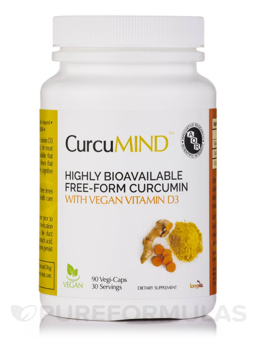 CurcuMIND - 30 Servings (90 Vegi-Caps)
