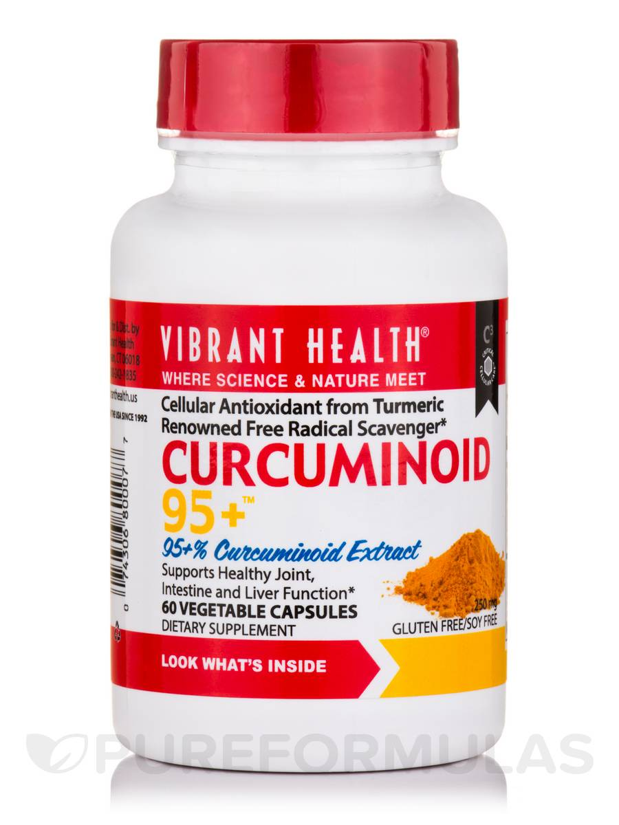 Curcuminoid 95+ - 60 Vegetable Capsules