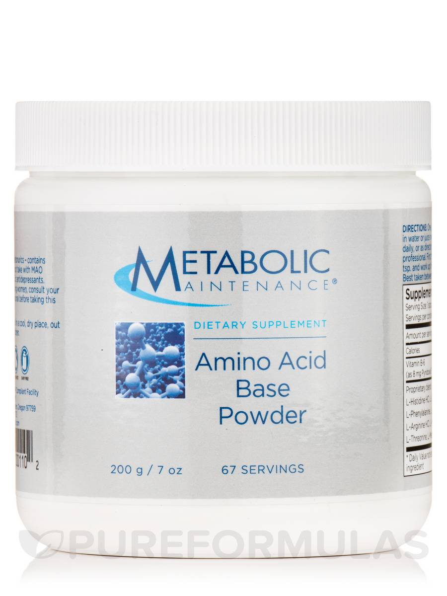 Custom Amino Acid Base - 67 Servings (7 oz / 200 Grams)