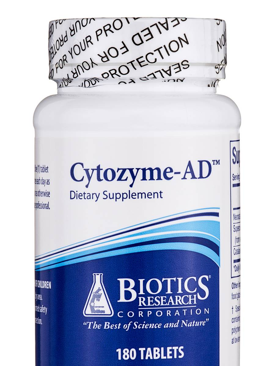 Cytozyme-AD - 180 Tablets