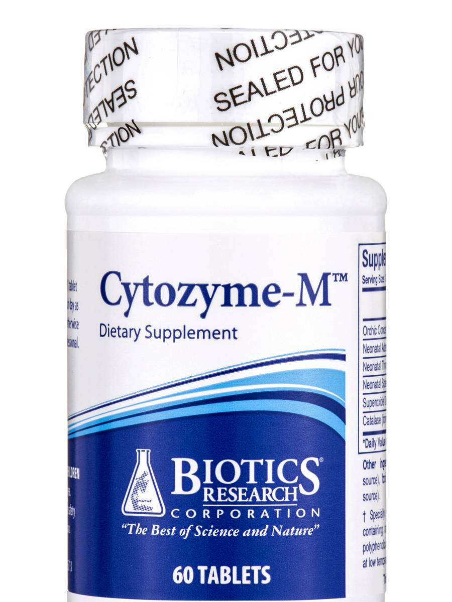 Cytozyme-M - 60 Tablets