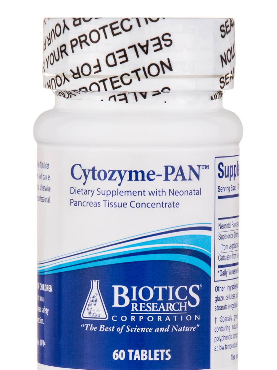 Cytozyme-PAN™ - 60 Tablets
