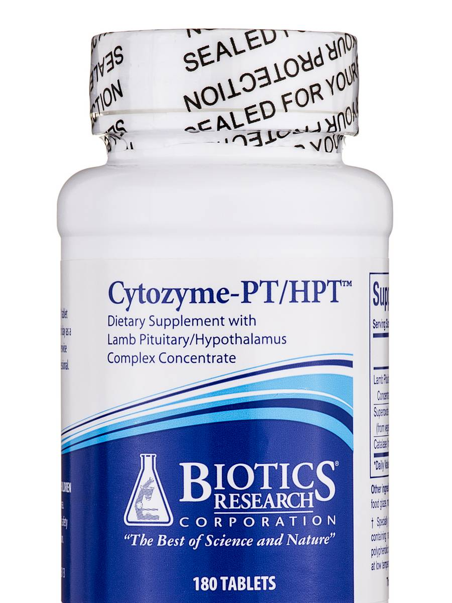 Cytozyme-PT/HPT - 180 Tablets