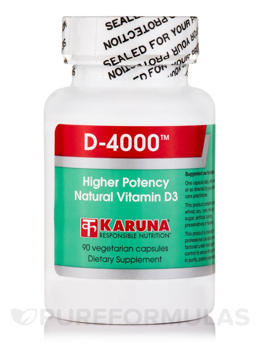 D-4000™ - 90 Vegetarian Capsules