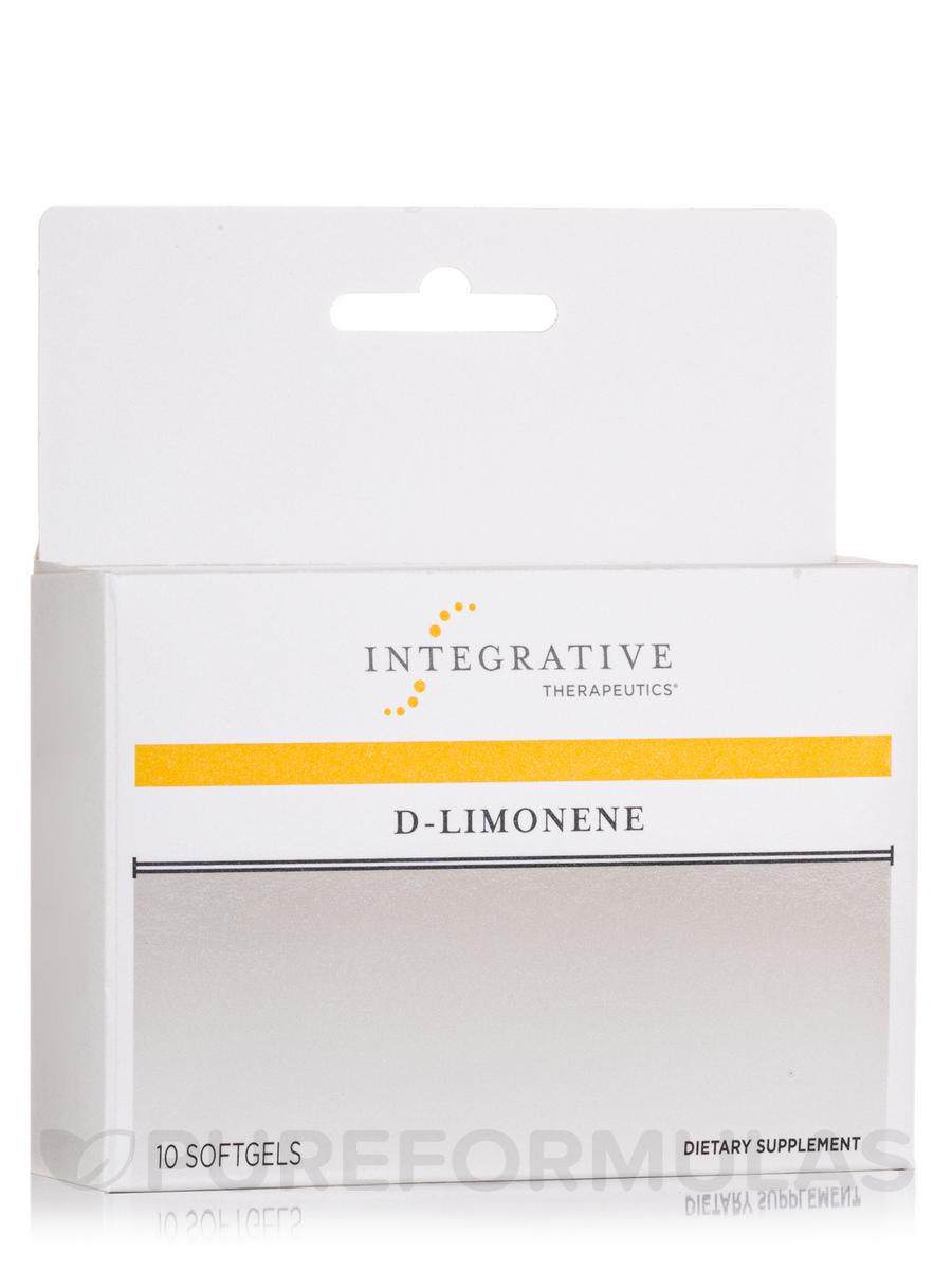 D-Limonene - 10 Softgel Capsules