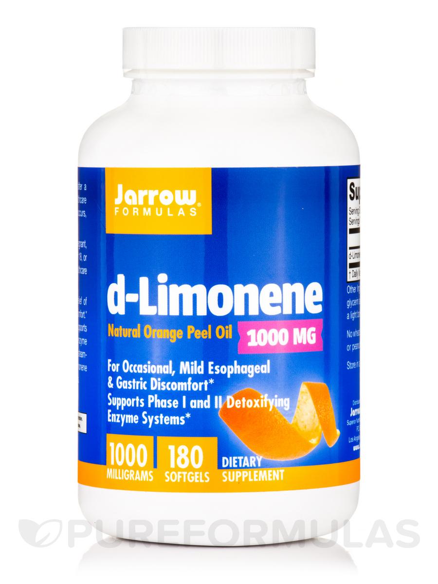 d-Limonene 1000 mg - 180 Softgels
