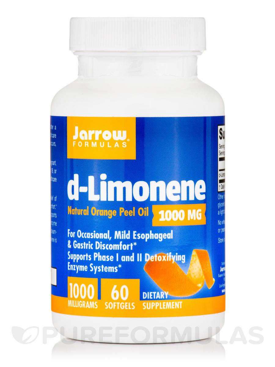 d-Limonene 1000 mg - 60 Softgels