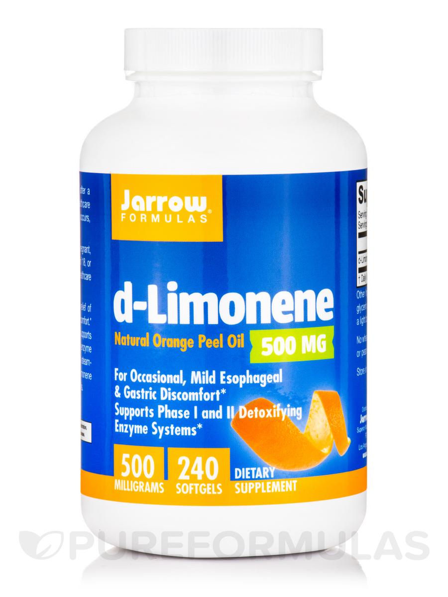 d-Limonene 500 mg - 240 Softgels