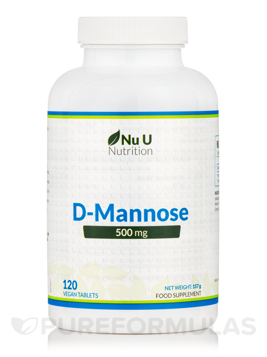 D-Mannose 500 mg - 120 Vegan Tablets