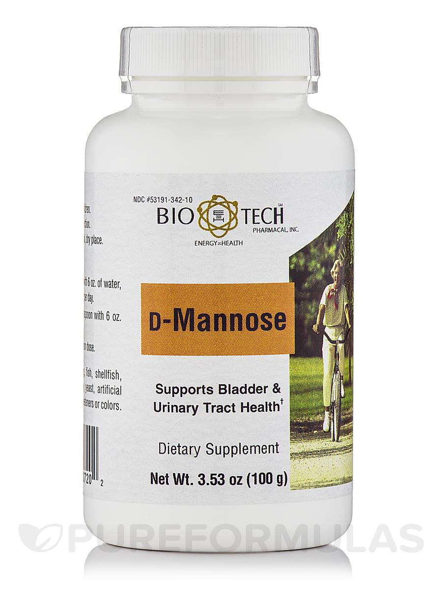 D-Mannose Powder - 3.53 oz (100 Grams)