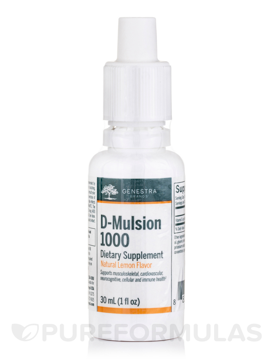 D Mulsion 1000 - 1 fl. oz (30 ml)